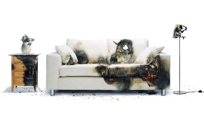 Оценка ущерба после пожара или залива